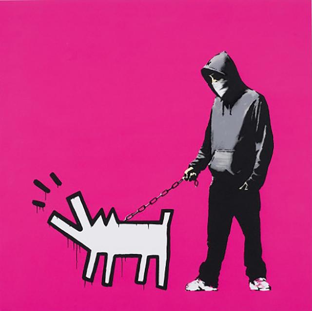 Banksy, 'Choose Your Weapon (Pink)', 2010, Emily Friedman Fine Art