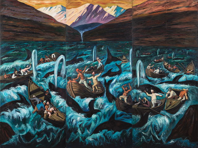 , 'Whale Hunters ,' 2019, Tang Contemporary Art