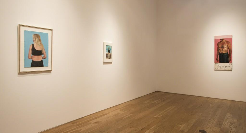 Salomón Huerta, Installation view at Samuel Freeman, 2016