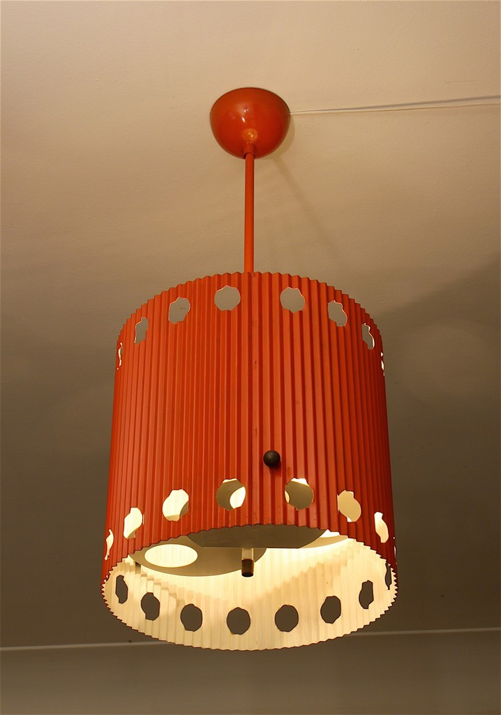 Mathieu matégot ceiling light java model 1954 galerie