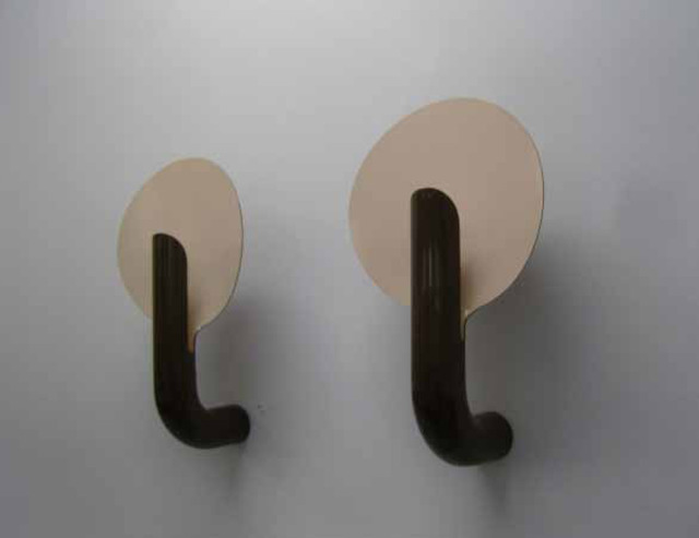 , 'Pair of brown wall lamps,' 1972, Jousse Entreprise