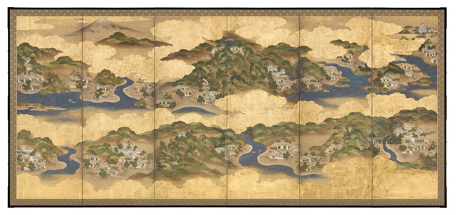 , 'The 53 Stations of the Tōkaidō,' Edo period (1615, 1868), ca. 1800, Erik Thomsen