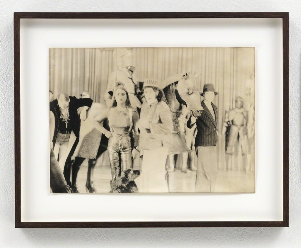 Sigmar Polke Zeughaus in Köln, 1976 Gelatin silver print Unique 20.8 x 29.5 cm / 8 1/4 x 11 2/3 in Framed: 31 x 39 x 3.5 cm