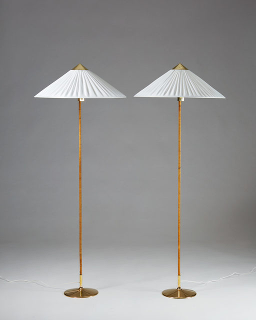 , 'Pair of floor lamps designed by Paavo Tynell for Taito Oy,  Finland. 1950's. ,' 1950-1959, Modernity