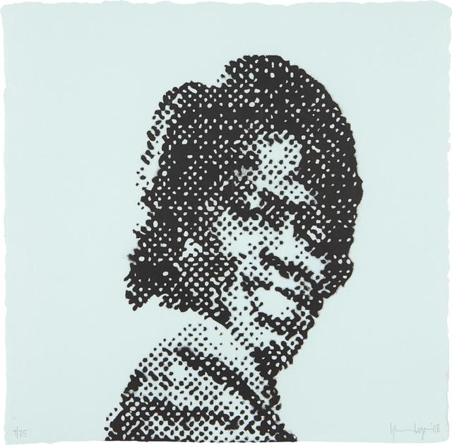 Glenn Ligon, 'Self Portrait at Nine Years Old (James Brown)', 2008, Phillips