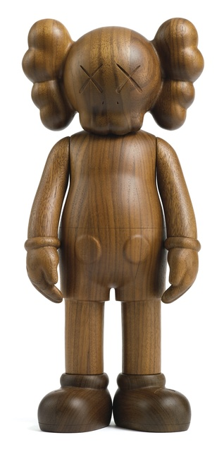 KAWS, 'Companion Karimoku Version', 2001, Sculpture, Wood, with original case, Vroom & Varossieau