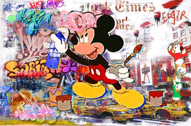 , 'The Walls Shout Out Your Name, Mickey,' 2015, Eden Fine Art