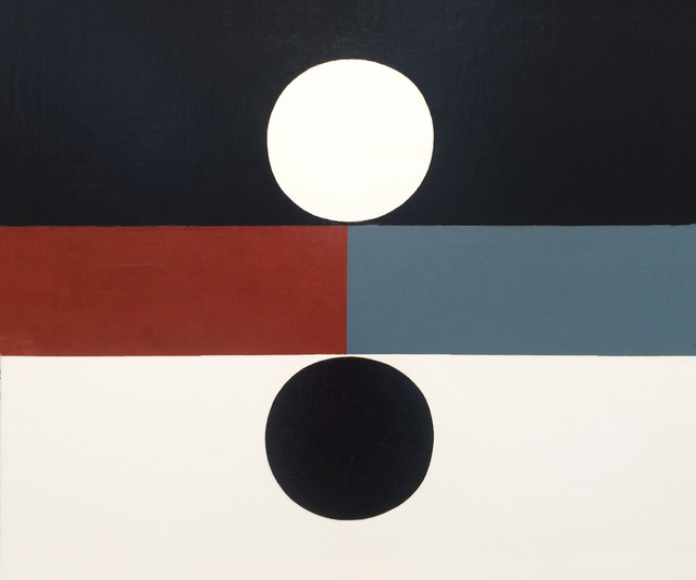 Frederick Hammersley, 'Both', 1959, Painting, Oil on Linen, Louis Stern Fine Arts