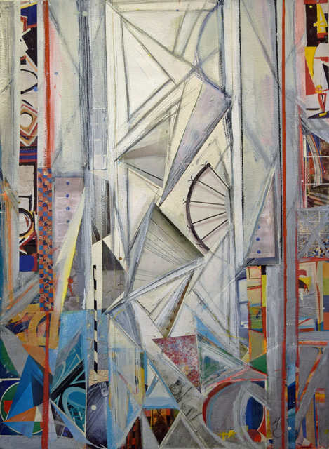 , 'White Geometric I,' 2016, Fountain House Gallery
