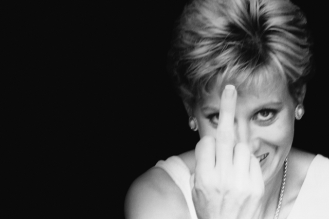, 'Diana Finger Up,' 1998, Ostlicht. Gallery for Photography