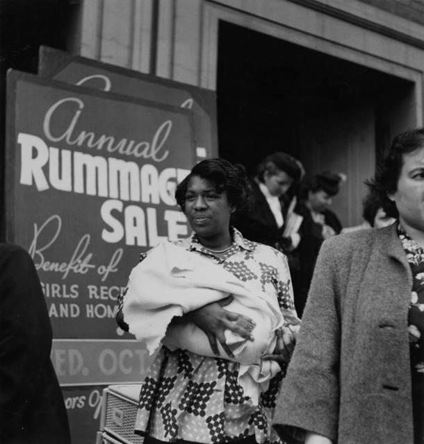 , 'Rummage Sale No. 2,' 1949, Scott Nichols Gallery