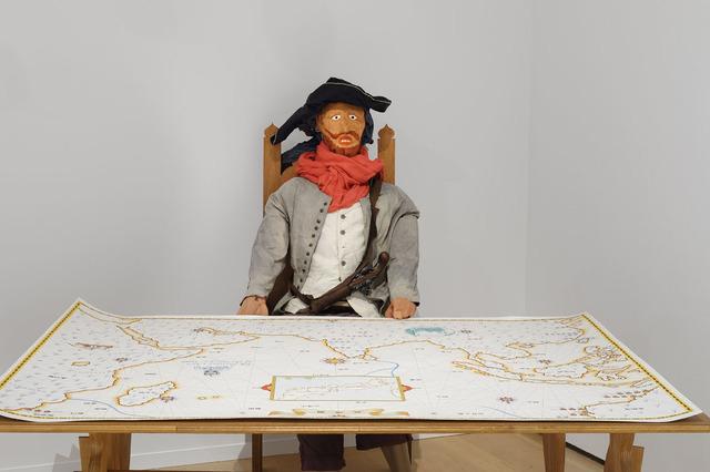 , 'Portolan chart Omaezaki / South Africa-Ise / China,' 2012, Ota Fine Arts