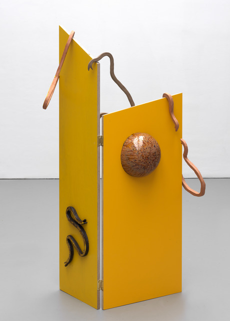 , 'Room Divider Tao Magic/Blazing Yellow,' 2018, Galerie Fons Welters