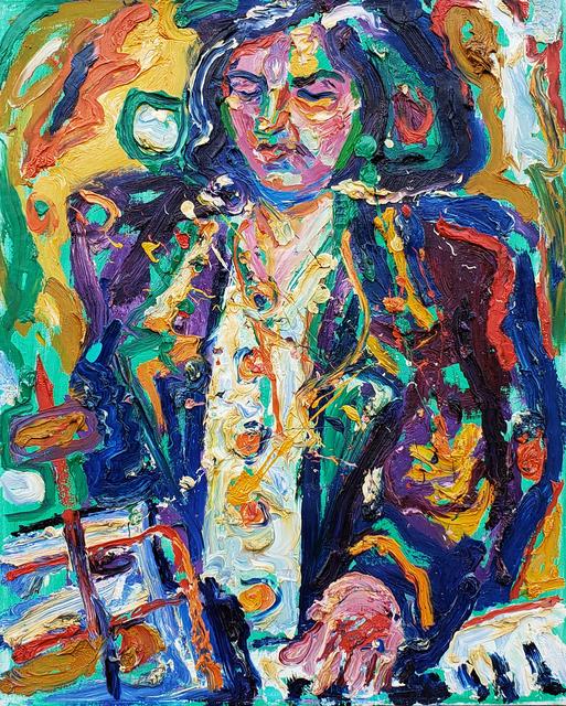 Marcel Kahhak, 'Female Pianist', ca. 2003, Kahhak Fine Arts