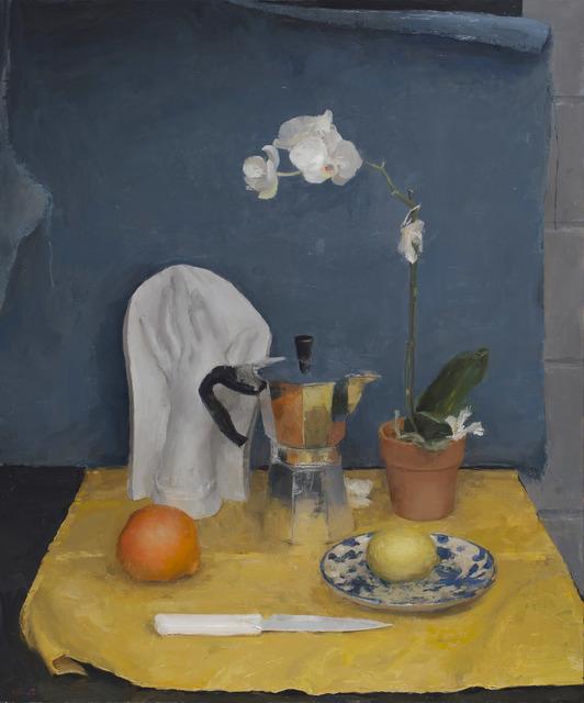 , 'Still Life in Blue and Yellow,' 2015, Koplin Del Rio