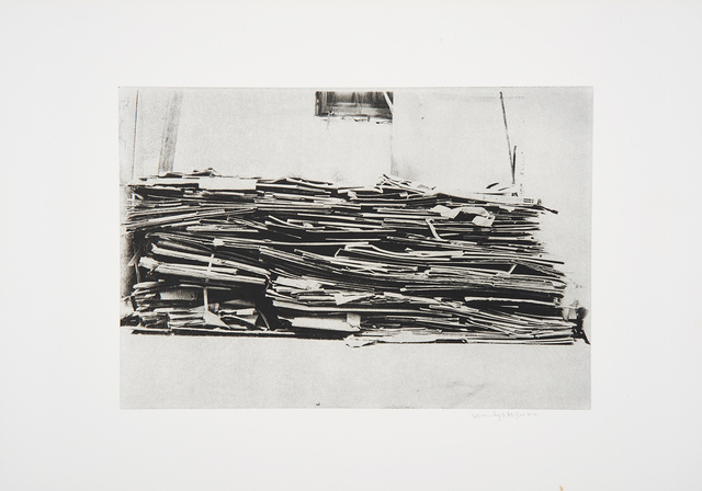 , 'Cardboard, Edition of 11,' 1981, Sokyo Gallery