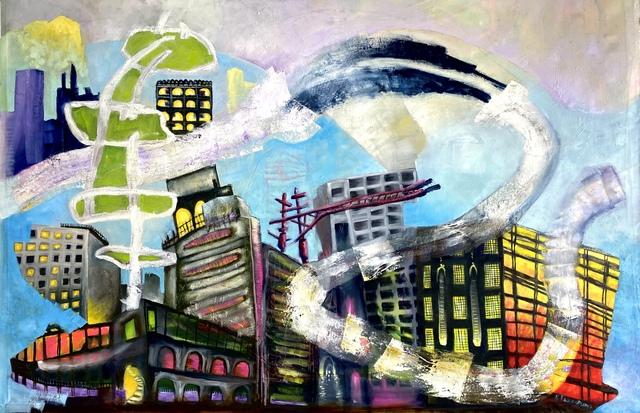 Kaye Freeman, 'Citadels', 2021, Painting, Oil painting on canvas, Band of Vices