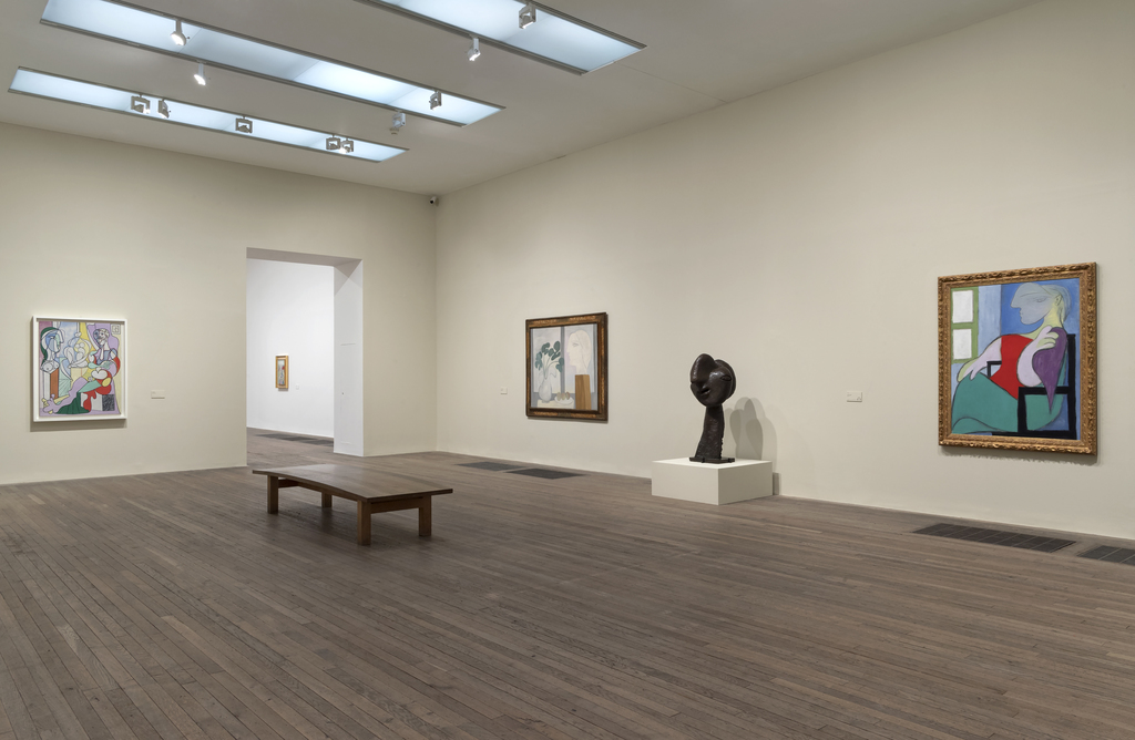 Installation view of Picasso 1932 - Love, Fame, Tragedy. Photo by Tate