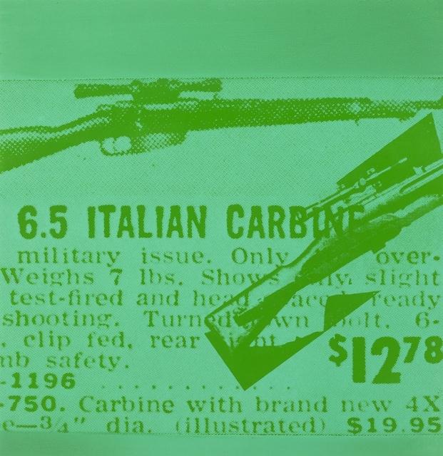 Andy Warhol, 'Flash- November 22nd, 1963 (Feldman and Schellmann II.37); one plate', 1963, Forum Auctions
