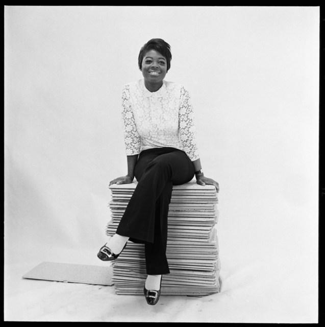 , 'Portrait of the Drum cover girl Rosemarie Thompson at the studio in Gray's Inn road, London, 1966-1967,' 2019, Galerie Clémentine de la Féronnière