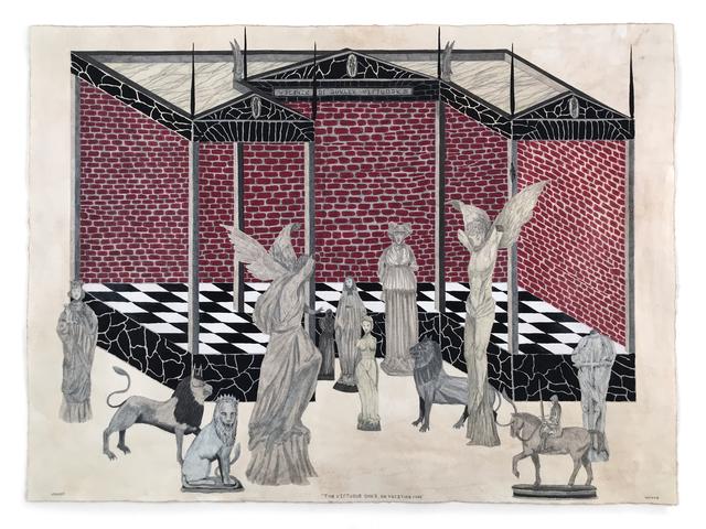 , 'THE VIRTUOUS ONES,' 2018, La Luz de Jesus Gallery