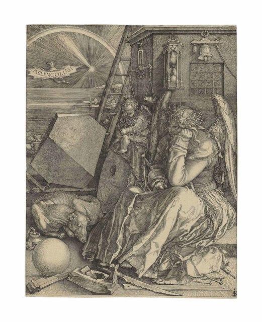 Albrecht Dürer, 'Melencolia I', 1514, Christie's