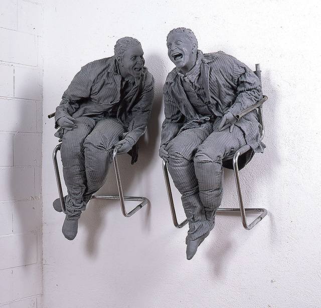 , 'Two Laughing at Each Other,' 2000, The FLAG Art Foundation