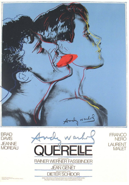 Andy Warhol, 'Querelle (Blue)', 1983, Posters, Offset lithograph, Gallery 52