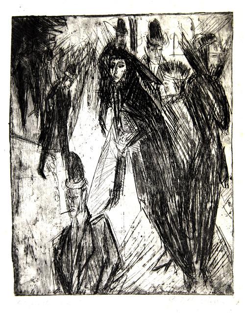 , 'Kriegswitwen auf der Strasse (War widows on the street),' 1914, Moeller Fine Art