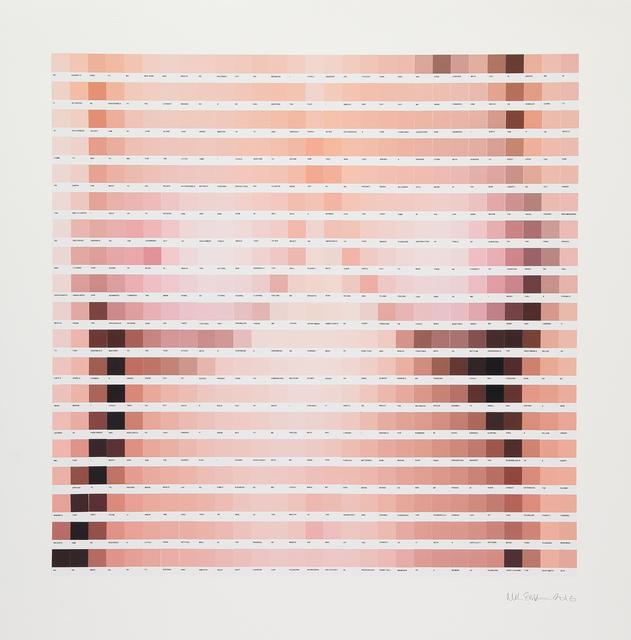 , 'He Advanc'd,' 2016, Lawrence Alkin Gallery