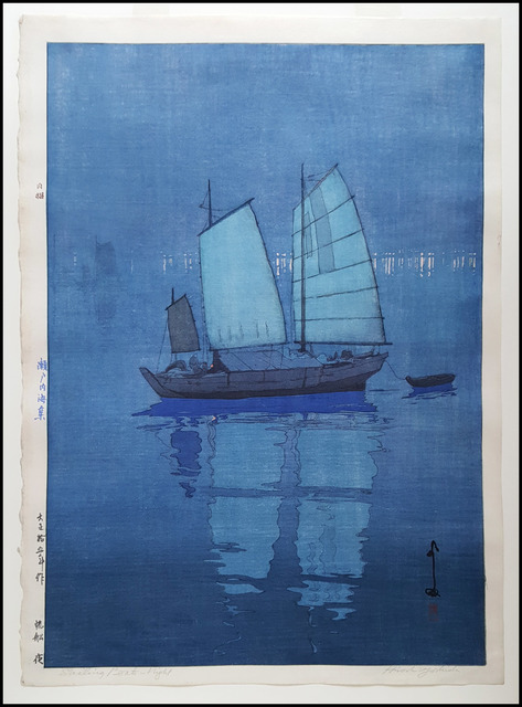 , 'Sailing Boats Night,' 1926, Verne Collection, Inc.