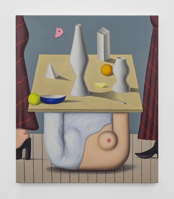 , 'Torso Table,' 2014, Mary Mary