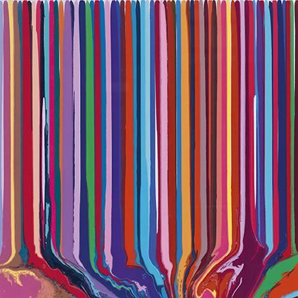 , 'Pale Blue/Lilac Duplex Colorplan,' 2013, Galerie Maximillian
