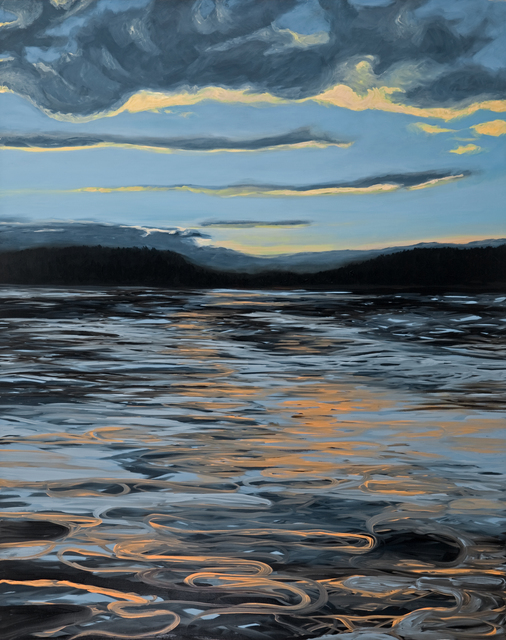 , 'Drifting in the Evening ,' 2015, InLiquid