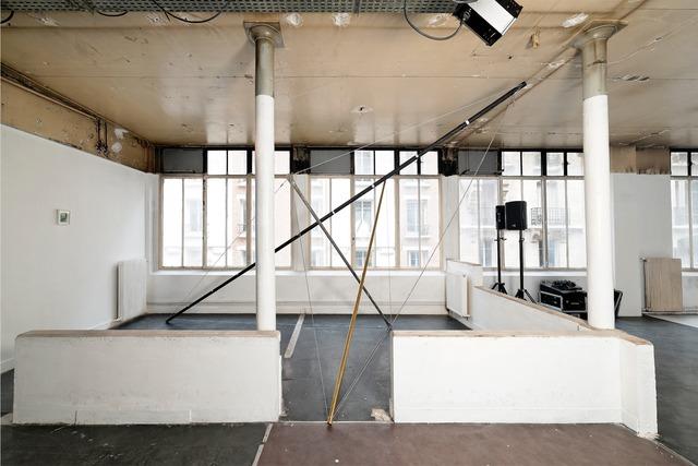 , 'Vue de l'installation de Mimosa Echard (View of Mimosa Echard's installation),' 2014, Fondation d'Entreprise Galeries Lafayette