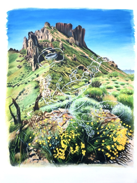 , 'Along Lost Mine Trail,' 2018, Mark Moore Fine Art