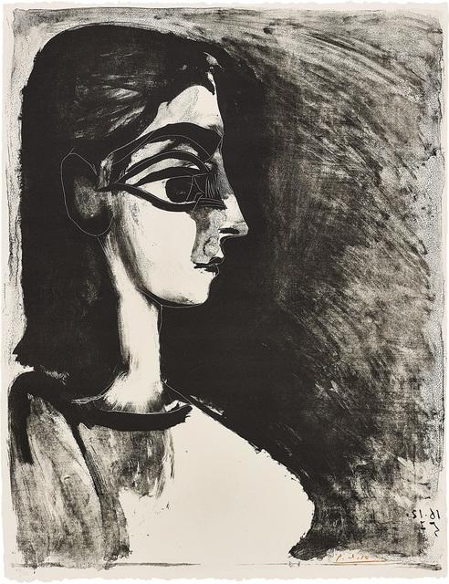 Pablo Picasso, 'Buste de profil (Bust in Profile)', 1957, Phillips