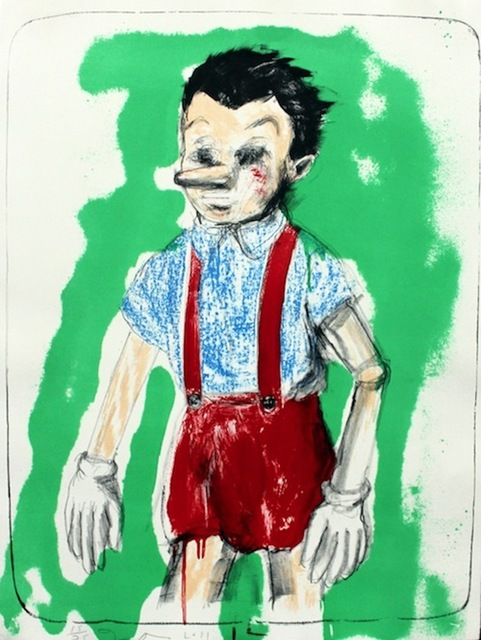 Jim Dine, 'Pinocchio coming from the Green', 2011, Aurifer AG