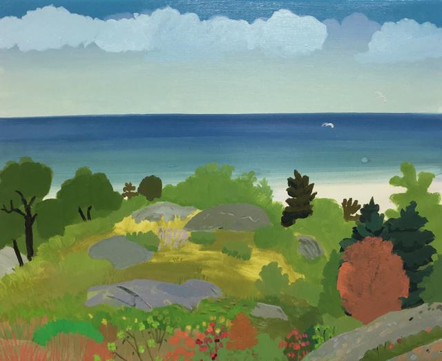 , 'landscape/seascape,' 2017, Half Gallery