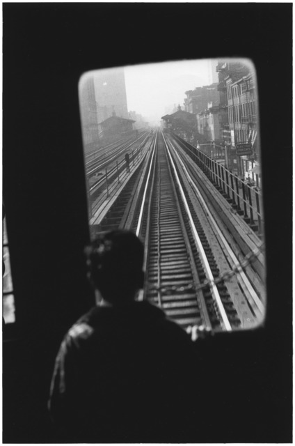 , 'Third Avenue El., New York City,' 1954, Huxley-Parlour