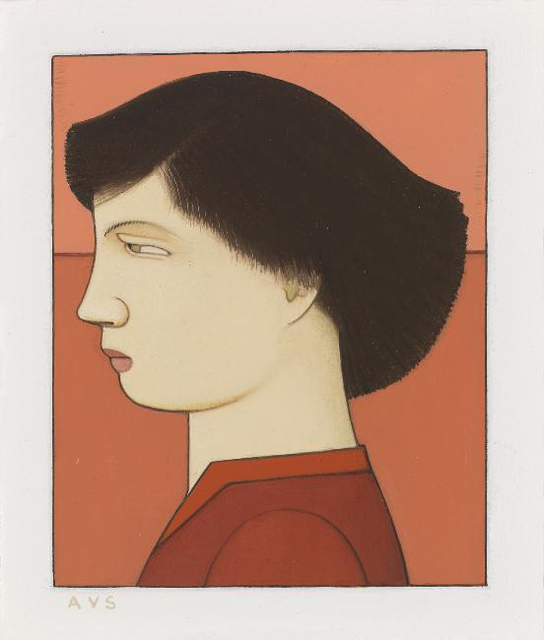 , 'Woman in Red Blouse,' 2007, Adelson Galleries