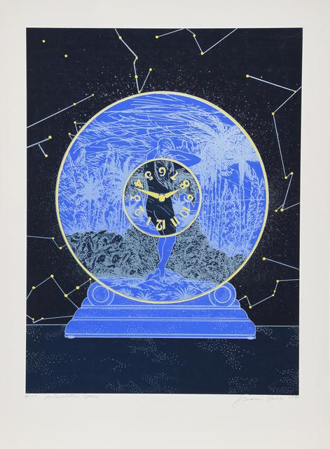 Susan Hall, 'Interstellar Space', ca. 1980, Print, Lithograph, RoGallery