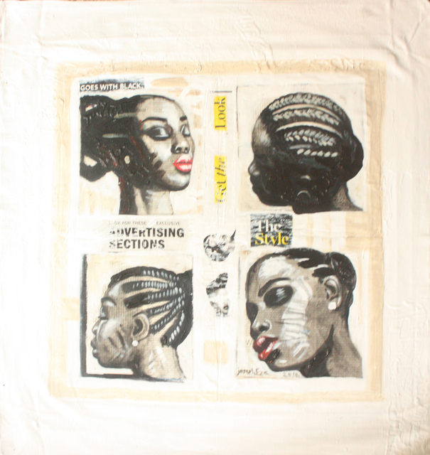 Joseph Eze, 'Hair Salon II', 2014, Society of Nigerian Artists