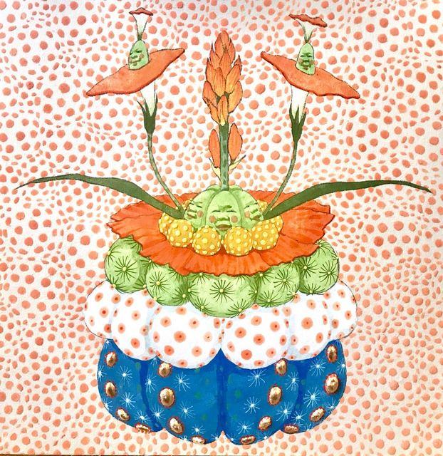 , 'Untitled Flowers 1,' 2018, JanKossen Contemporary