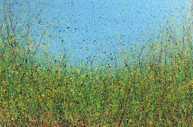 Diana Carey, 'Fog in the Yellow Mustard', 2019, Rebecca Molayem Gallery