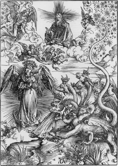 , 'Das Sonnenweib und der siebenköpfige drache (The Apocalyptic Woman),' 1511, R. S. Johnson Fine Art