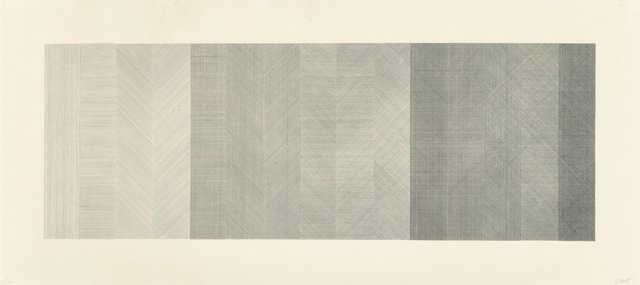 Sol LeWitt, 'Horizontal Composite (Black)', 1970, Heritage Auctions
