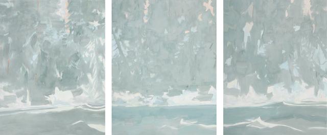 , 'Tidal River I, II, III,' 2018, DC Moore Gallery