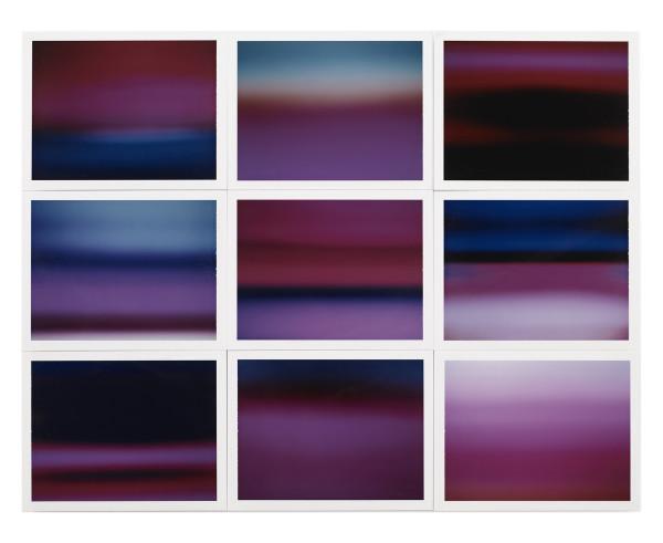 , 'Horizon, étude couleur #3,' 2015, Galerie Thierry Bigaignon