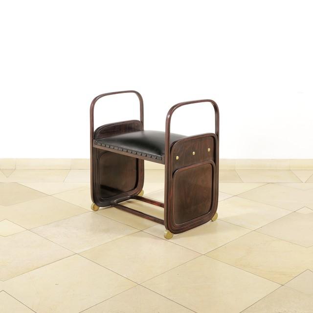 , 'Stool,' Design 1901, Galerie Bei Der Albertina Zetter